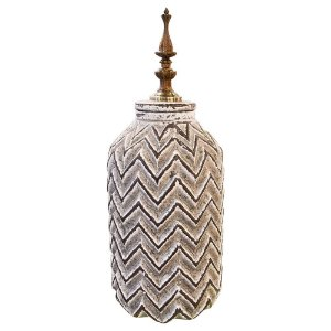 Vaso em Cerâmica Stripes Grande