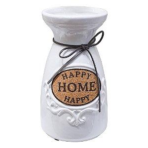 Vaso Happy Home Branco