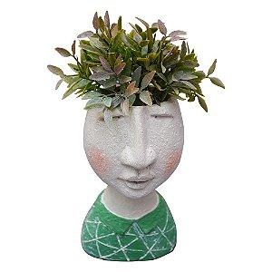 Vaso Busto Verde