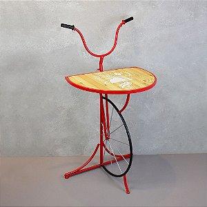 Aparador Bicicleta Guidão Vermelho