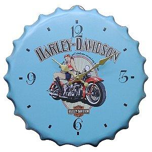 Relógio Hd Azul