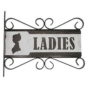 Placa Rústica Ladies