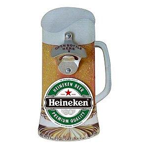 Abridor de Garrafa Chopp Heineken