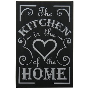 "Quadro Negro ""Kitchen is the..."""