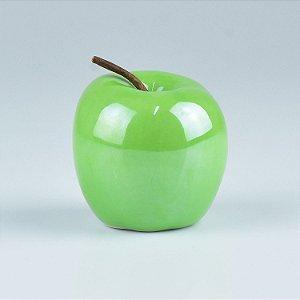 Enfeite Apple Verde em Cerâmica