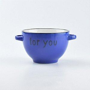 """Bowl Colors """"For You"""" em Cerâmica"""