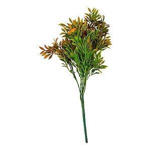 Flor Permanente Verde e Vermelha