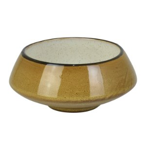 Bowl Debrum Amarelo em Cerâmica