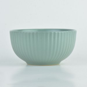 Tigela Texturizada Verde em Cerâmica