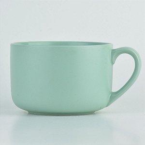 Bowl Caneca Verde Claro em Cerâmica