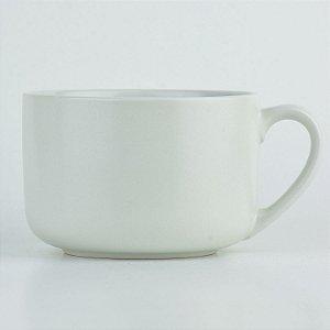Bowl Caneca Branco em Cerâmica