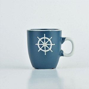 Caneca Oceano Azul Timão P em Cerâmica