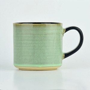 Caneca Dark Verde em Cerâmica
