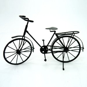 Enfeite Bicicleta em Metal