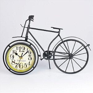 Relógio Bicicleta em Metal