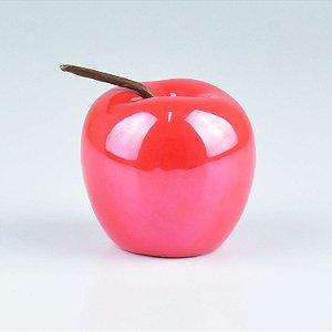 Enfeite Apple Vermelha em Cerâmica