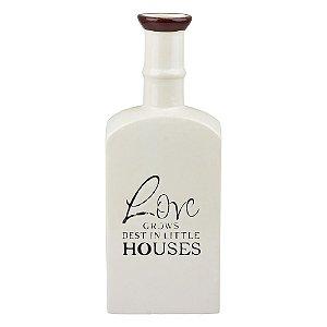 Vaso Love House Branco