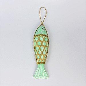 Enfeite Peixe Verde