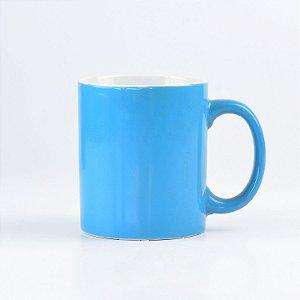Caneca Lisa Azul Claro