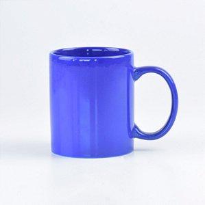 Caneca Lisa Azul Escuro