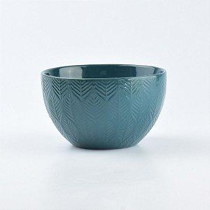 Bowl Lines Verde em Cerâmica