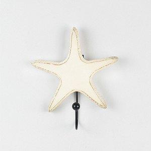 Cabideiro Estrela do Mar Branca