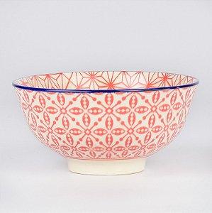 Bowl Inovare Vermelho e Branco