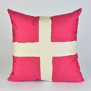 Almofada Náutica Bandeira Xray Vermelha