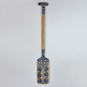 Remo Maori Azul Quadrado 100 cm
