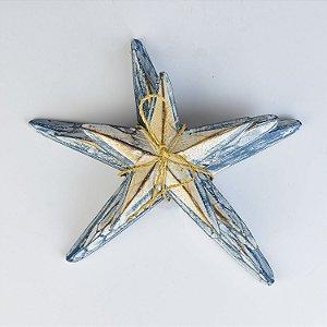 Enfeite Estrela do Mar Azul Escuro