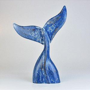 Enfeite Cauda de Baleia Azul G