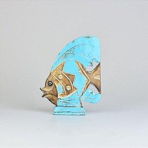 Enfeite Peixe Turquesa P