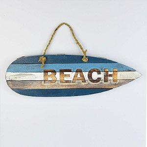 Prancha Beach Azul e Marrom