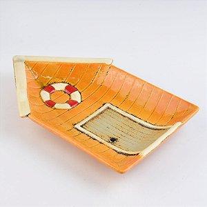 Petisqueira Casa com Bóia em Cerâmica