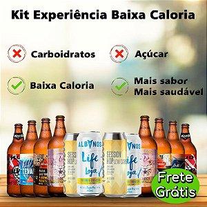 Kit Experiência Zero Carboidratos e Açúcar - 12 Cervejas
