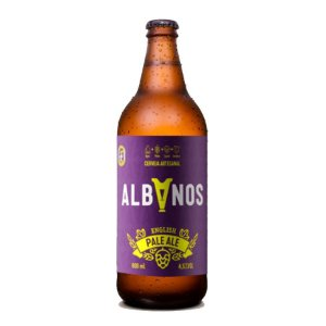 Cerveja Albanos English Pale Ale 600ml