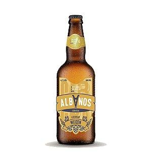 Cerveja Albanos German Weizen 500ml