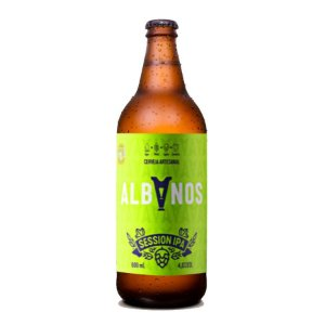 Cerveja Albanos Session IPA 600ml