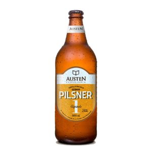 Cerveja Austen Capítulo 1 German Pilsner 600ml