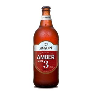 Cerveja Austen Capítulo 3 Amber Lager 600ml