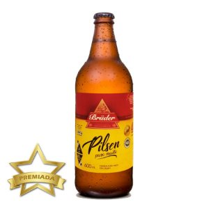Cerveja Brüder Pilsen Puro Malte 600ml