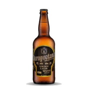 Cerveja Ouropretana Golden Lager 500ml