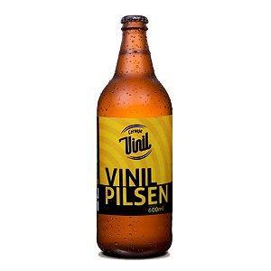 Cerveja Vinil Pilsen 600ml