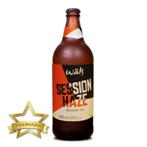 Cerveja Wäls Session Haze IPA 600ml