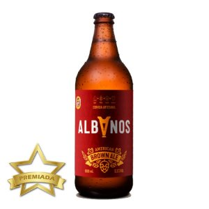 Cerveja Albanos American Brown Ale 600ml