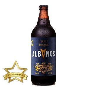 Cerveja Albanos Irish Dry Stout 500ml