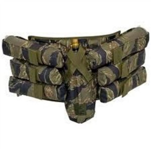 Cinto Harness Valken 6+1 Camo Tiger Strip