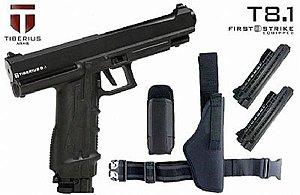 Marcador Pistola Tiberius 8.1 Preta Player Pack