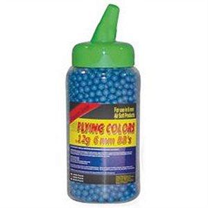 Bolinha BBs Flying Colors 12gr 2.000ct Azul