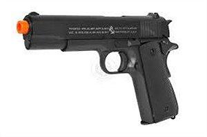 Pistola Colt 1911 WWII Mil-Sec Full Metal Blowback                                               VER DESCRIÇÃO